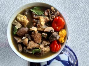 Mushroom Peppersoup